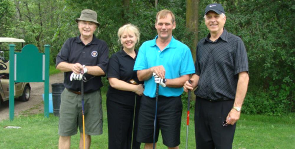 Matthew's golfers