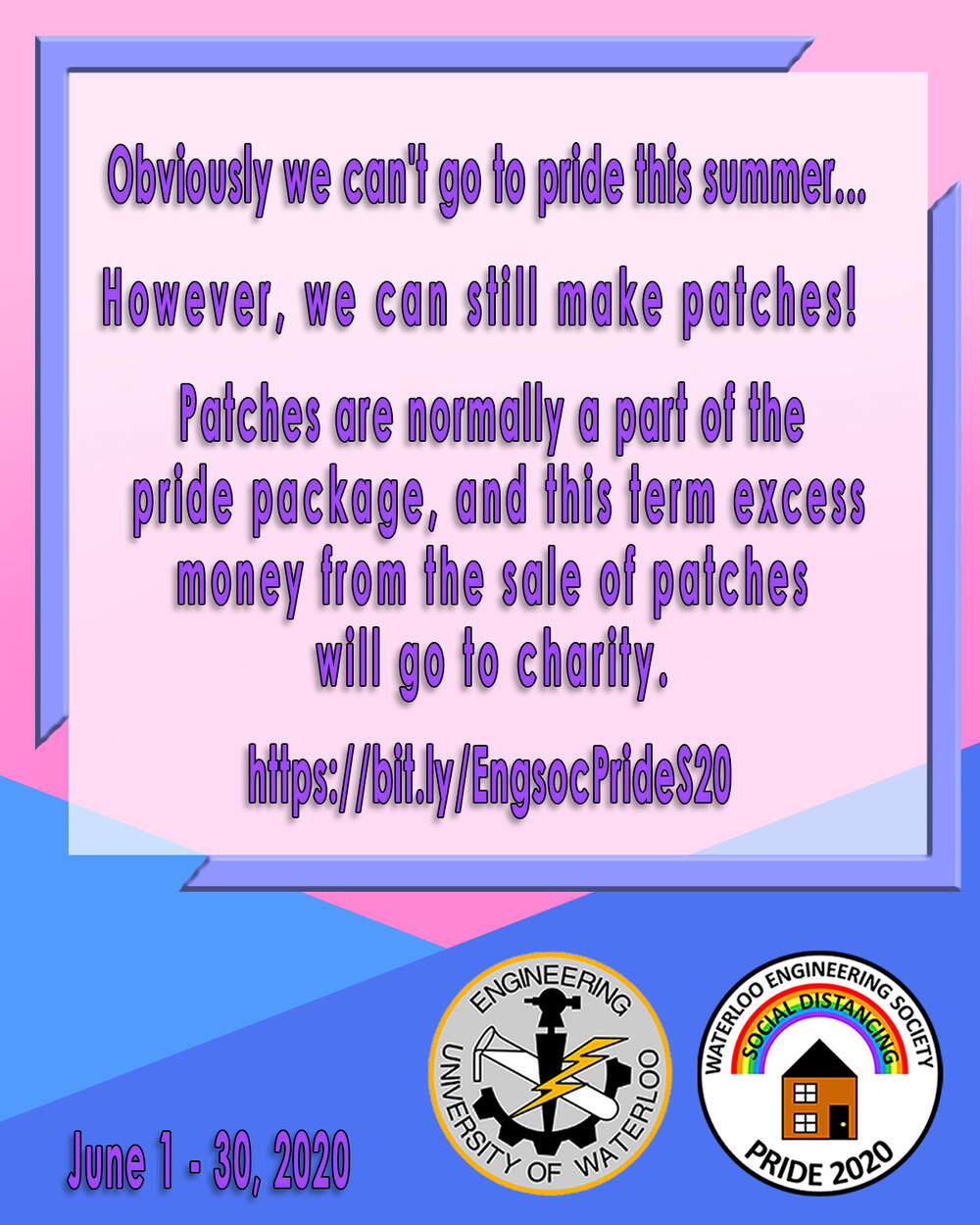 EngSoc Pride Patch Fundraiser
