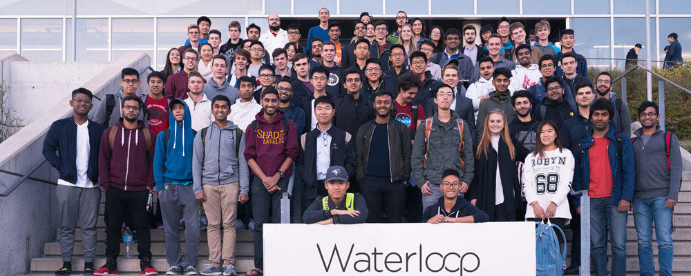 Waterloop Team in front of E7
