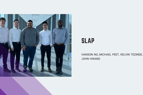 SLAP. is a low-power, wide-range, non-intrusive solution that uses sensors to detect and report parking occupancy.