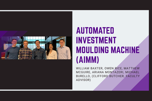 Automated Investment Moulding Machine (AIMM)