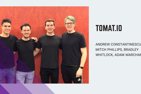 TOMAT.IO is working on the future of agriculture by building a tomato harvesting robot for greenhouses.