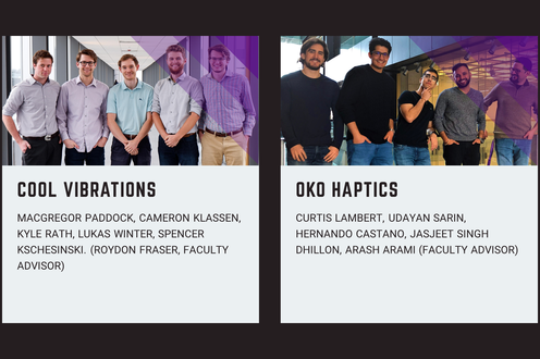 Cool Vibrations, Oko Haptics