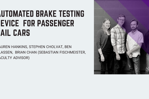 Automated Brake Testing Device for Passenger Rail Cars