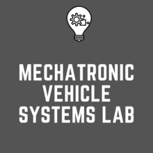 Mechatronics Vehicle Systems Lab