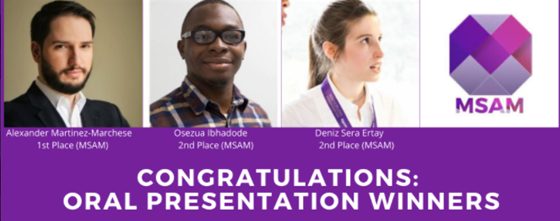Student Presentation Award Winners