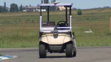 Self Driving Golf Cart