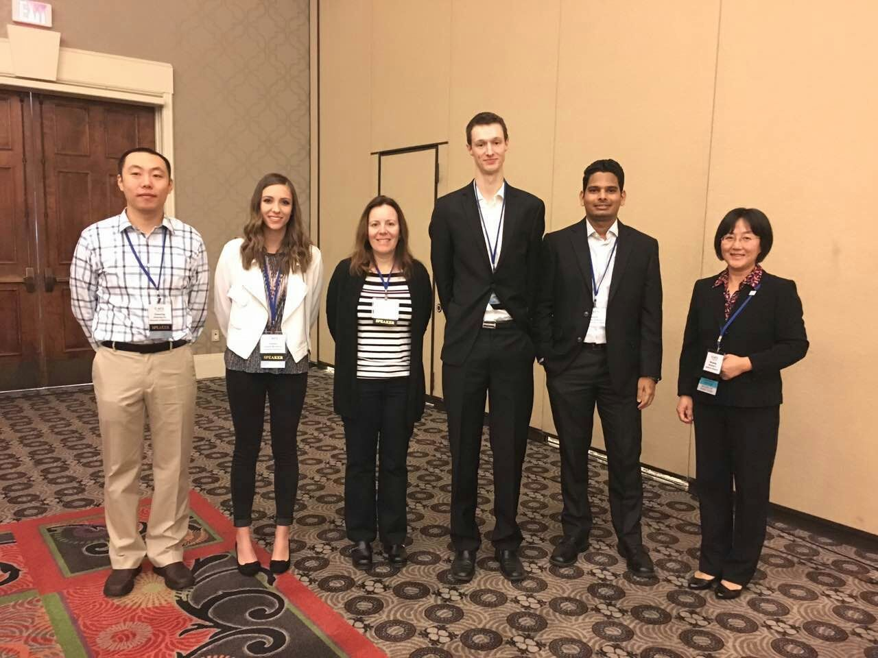 Best poster winners at at the American Filtration and Seperations Society 2017 Annual Conference