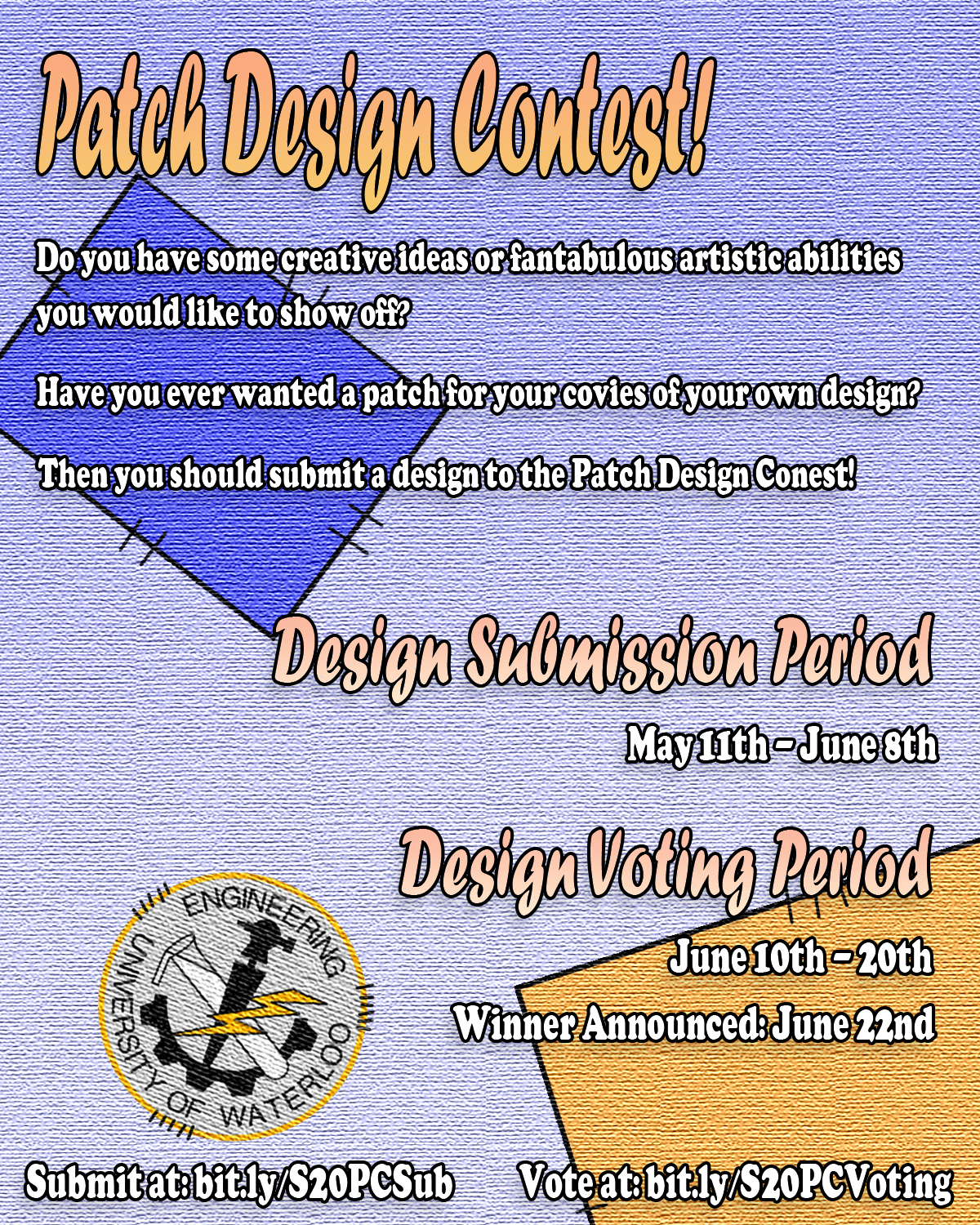 EngSoc Patch Design Contest