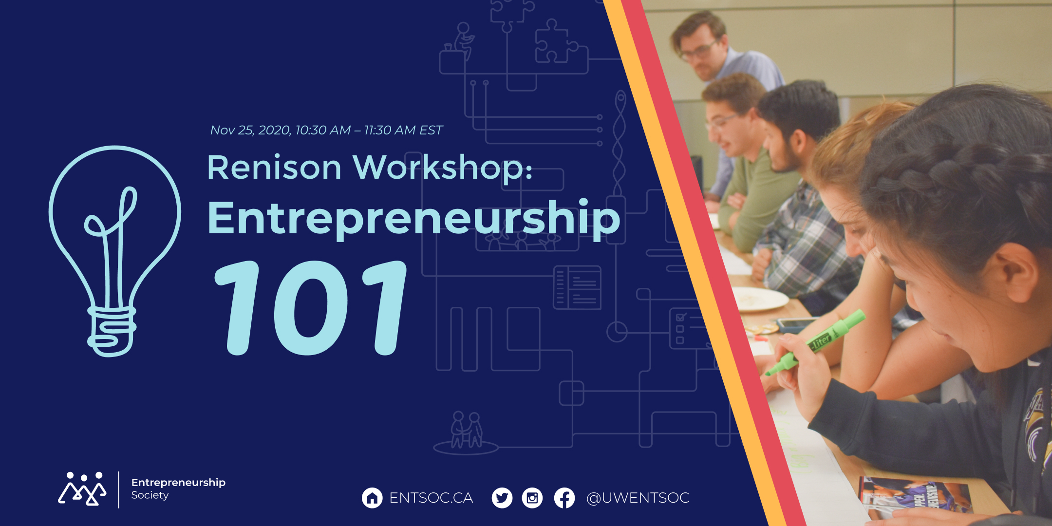 Renison Workshop: Entrepreneurship 101