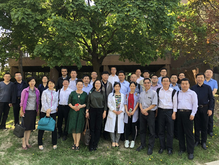 delegation of Presidents and Vice Presidents from 21 Chinese Universities and Colleges