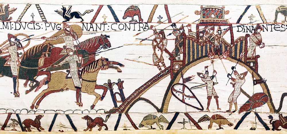Bayeux Tapestry - Bayeux, France