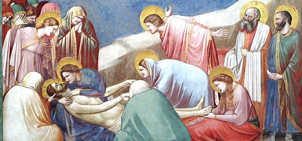 Lamentation by Giotto