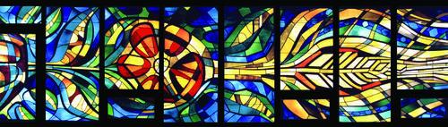 photo of grebel chapel windows left