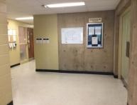 hallway to CMHR