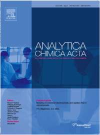 Analytica Chemica Acta cover.
