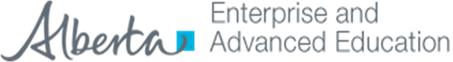 Alberta Enterprise and Advanced Education.