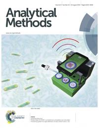 Analytical Methods cover.