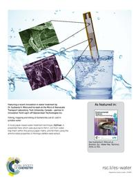 Water Research & Technology cover.