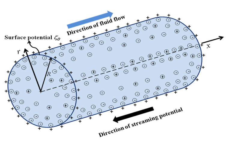 An Electric Double Layer during ion transport in narrow confindments