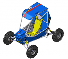 cad buggy car