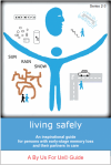 Cover graphic for living safely BUFU guide