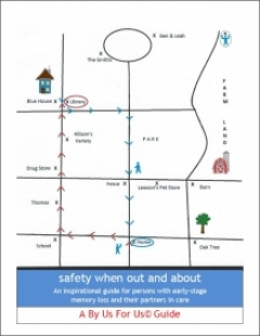 Safety when out and about By Us For Us guide cover graphic