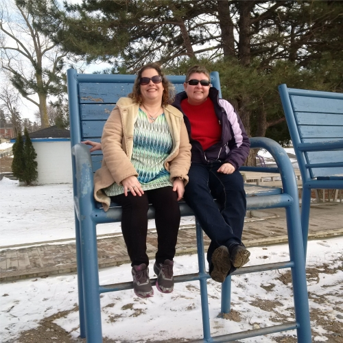 Mary Beth and Dawn at Kincardine