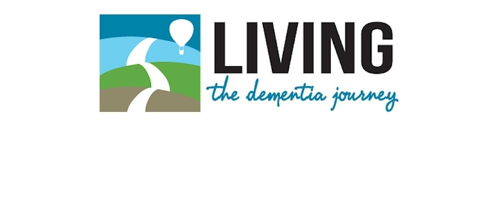 Living the dementia journey logo.