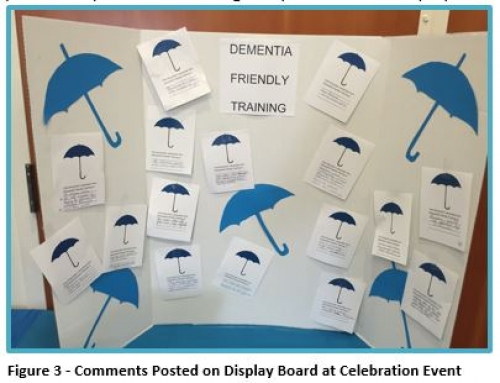Comments posted on Display Board at Celebration Event