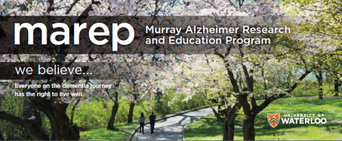 Murray Alzheimer Research and Education Program (MAREP). We believe...Everyone on the dementia journay has the right to live well.