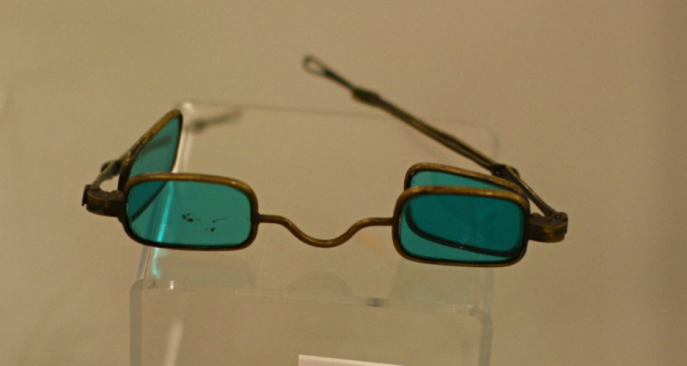 antique green spectacles