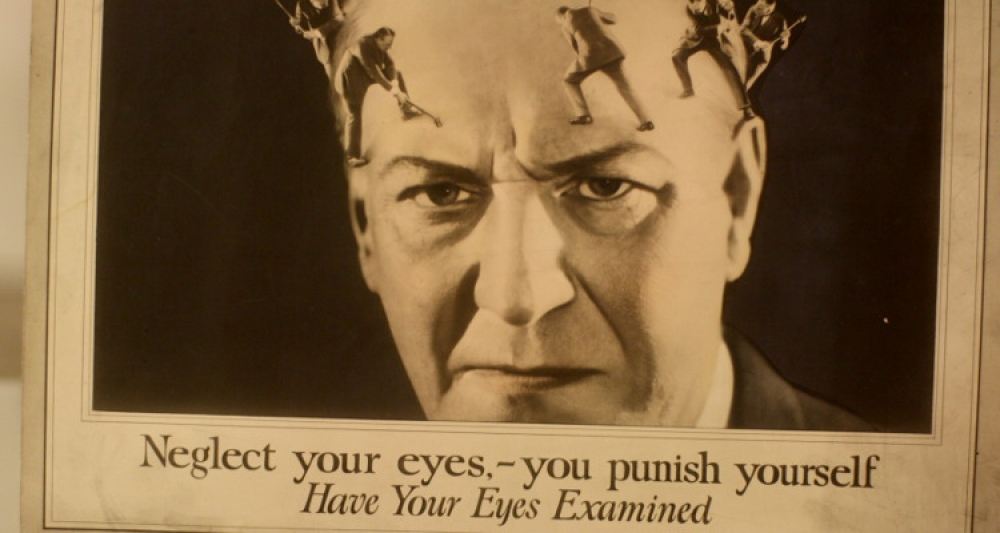Neglect your eyes, punish yourself