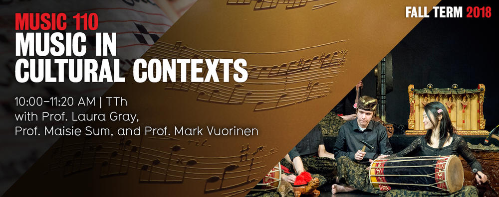 Music in Cultural Contexts