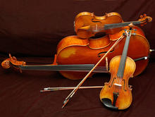 3 stringed instruments