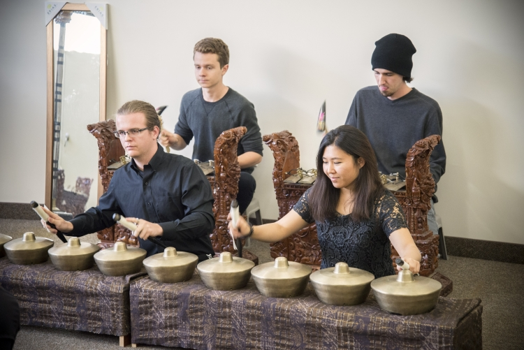 Students in Gamelan