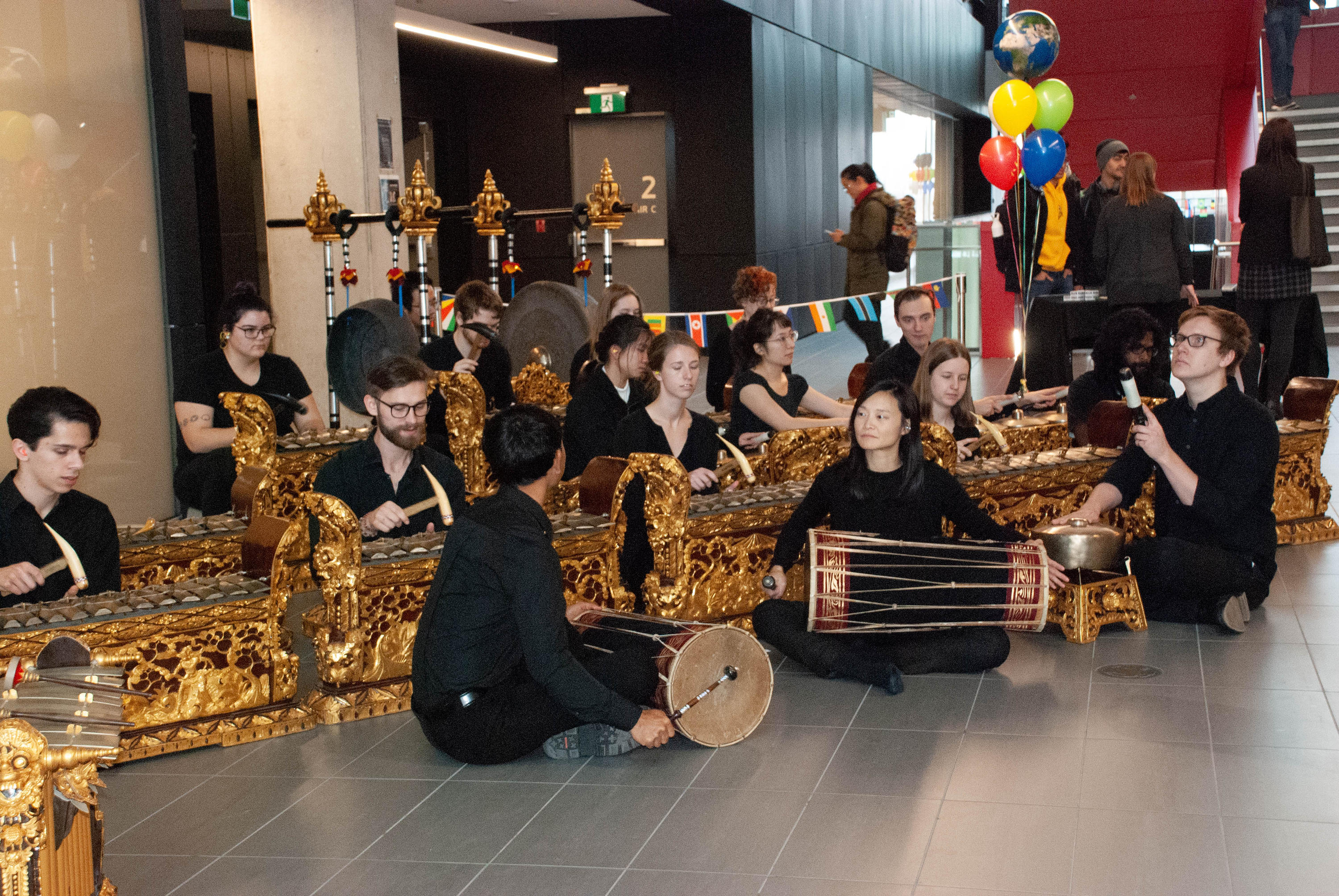 Balinese Gamelan Ensemble in Engineering building