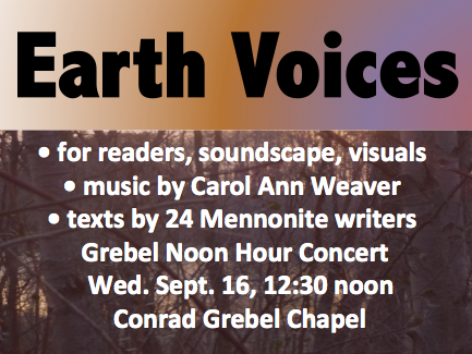 Earth Voices poster