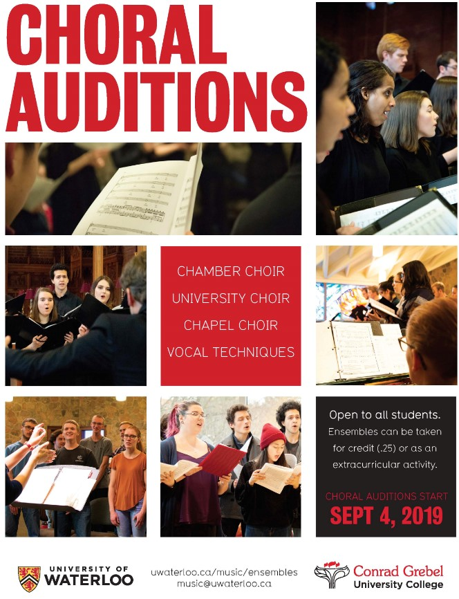 Choral auditions