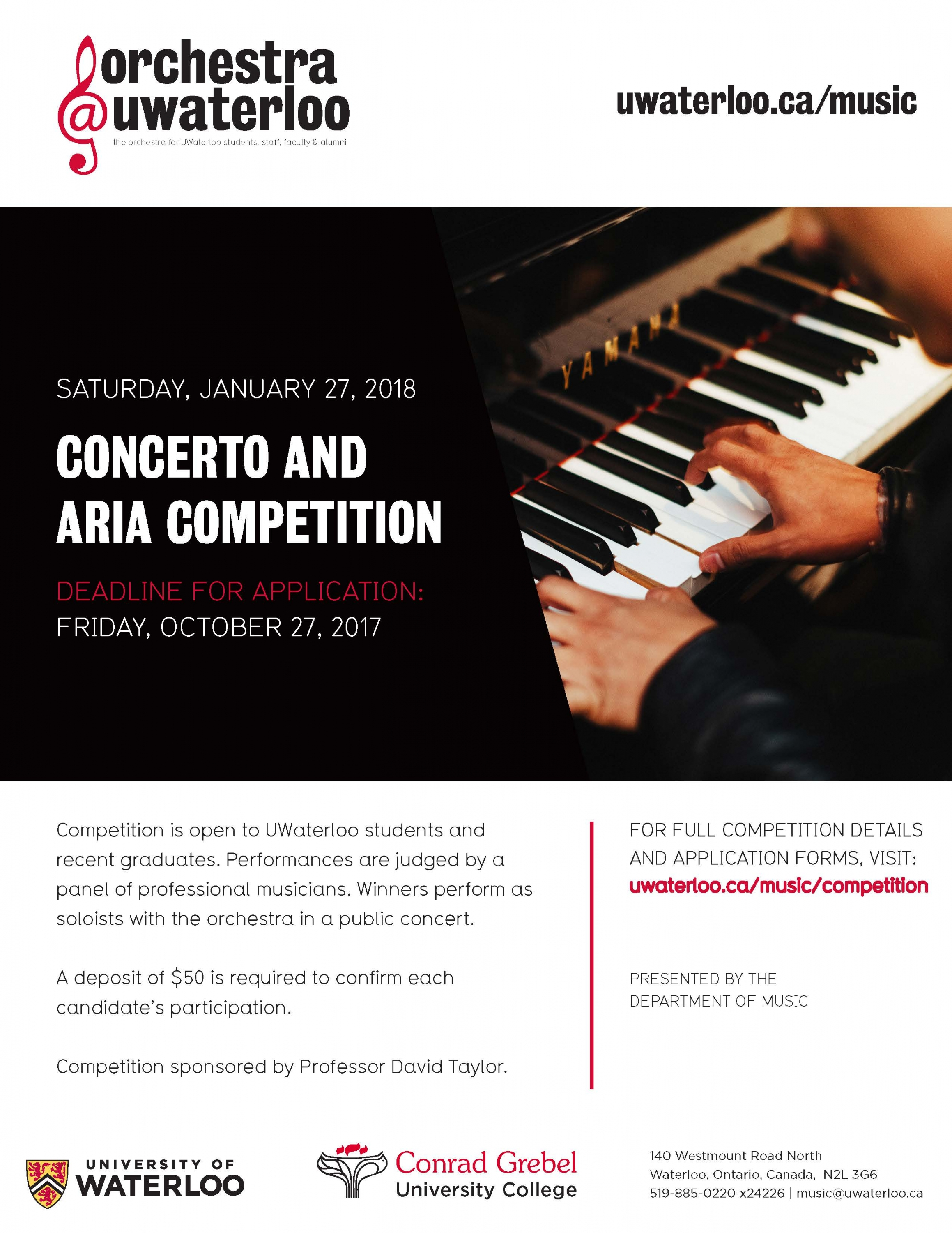 Concerto and Aria Competition