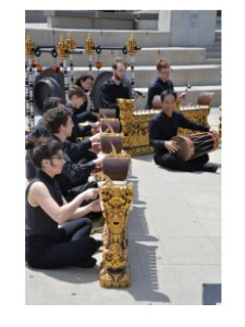 Gamelan in Waterloo Town Square
