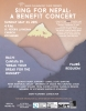 nepal benefit concert poster pic