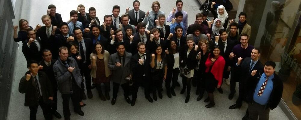 Class of 2015 flash their iron rings