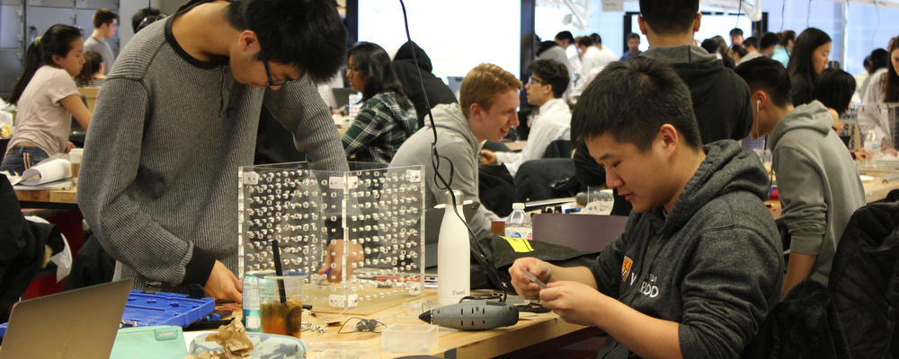 NE Design Days  First-year students build scanning tunelling microscopes.