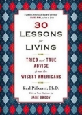 Book cover - 30 Lessons for Living, by Karl Pillemer.