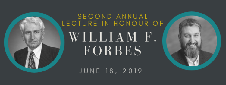 William Forbes lecture