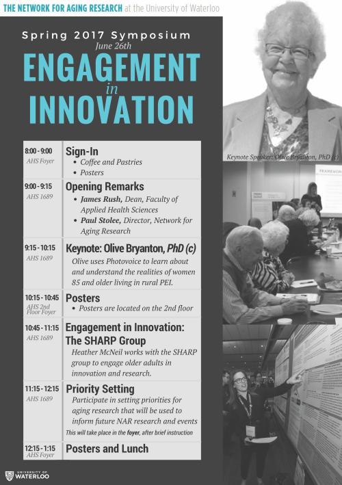 NAR Symposium Agenda