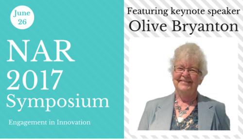 NAR 2017 Symposium featuring keynote speaker Olive Bryanton