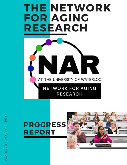 First page of the 2019 NAR Progress Report
