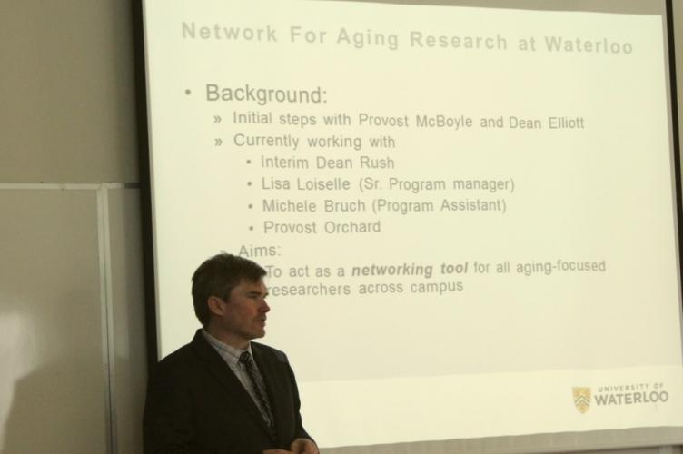 Steven Mock, Interim Director of NAR, speaking at the event.